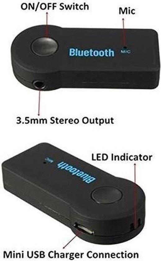 AUX Bluetooth Draadloze Ontvanger   Muziek streamen via Bluetooth  Handsfree carkit en thuisgebruik   MP3 Player 3.5mm   Bluetooth 3.1 Speaker