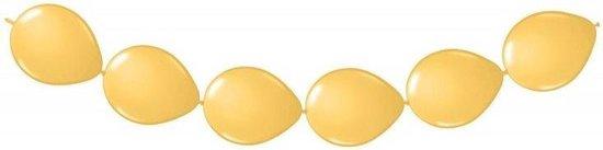 20 doorknoop ballonnen goud