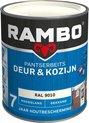 Rambo Pantserbeits Ral 9010 Zijdeglans - 2,5 Liter