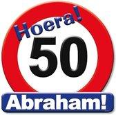Paperdreams - Huldeschild - 50 Jaar Abraham - Multi Colour