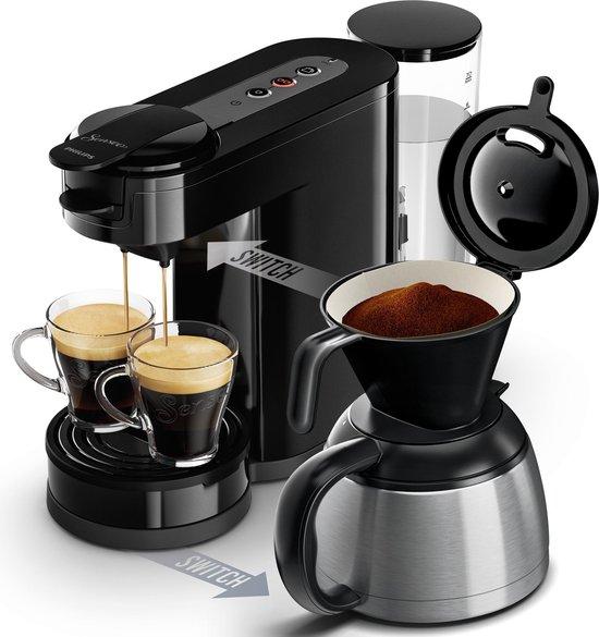 Philips Senseo Switch HD7892/60 - Koffiepadapparaat - Thermoskan