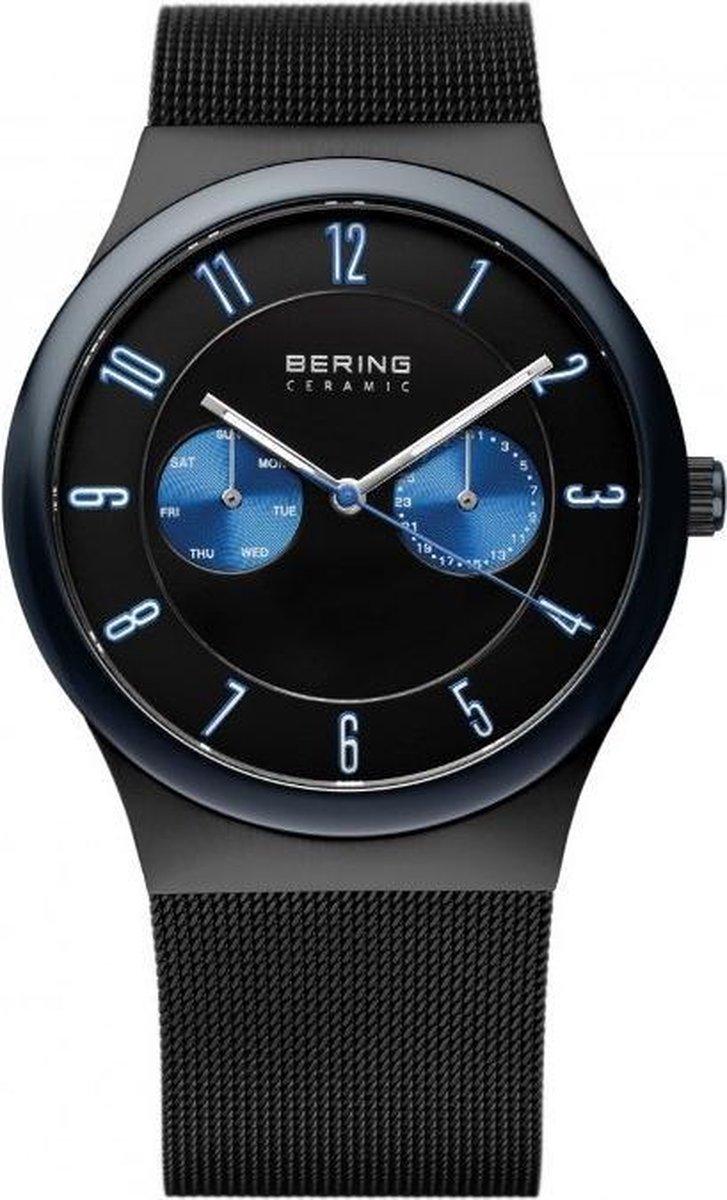 BERING 32139-227 - Horloge - Staal - Mat Zwart - Ø 39 mm