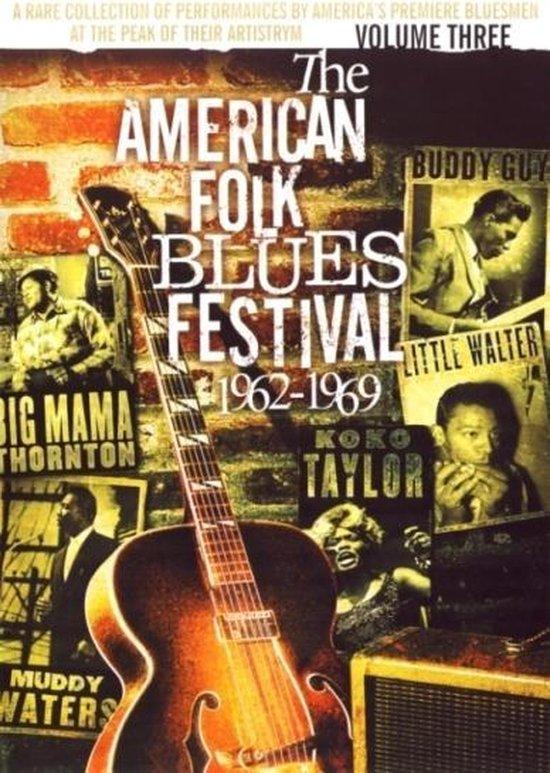 Cover van de film 'American Folk Blues Festival Vol.3, All Regions'