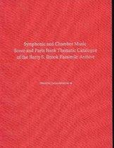 Symphonic & Chamber Music Score and Parts Bank