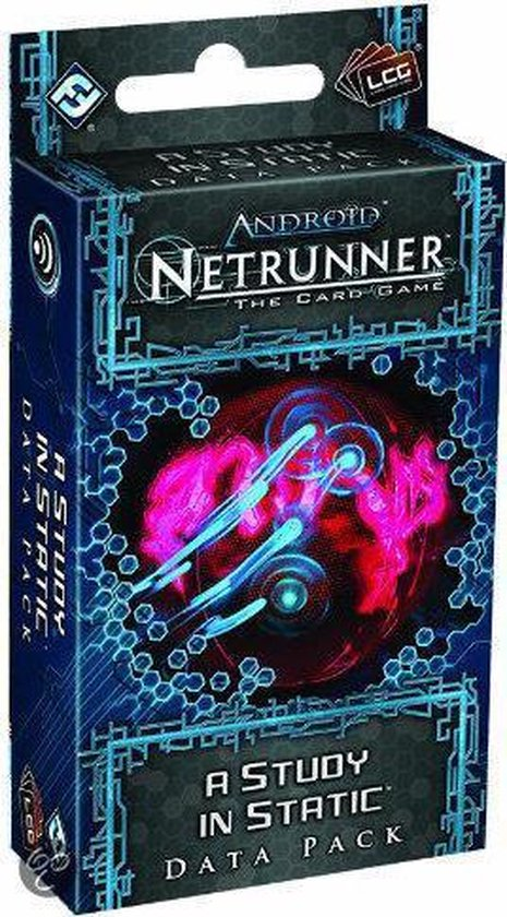 Android Netrunner LCG A Study in Static Data Pack - Kaartspel