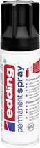 edding 5200 permanent spray premium acrylverf diepzwart mat RAL 9005