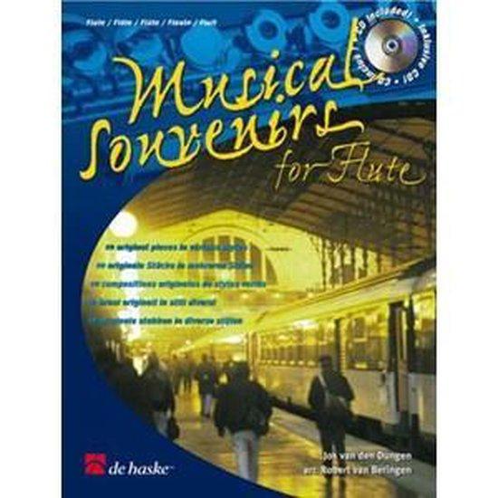 Musical Souvenirs for Flute - J. van den Dungen |