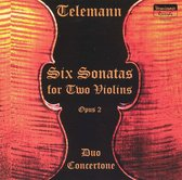 Telemann: Six Sonatas for Two Violins, Op. 2