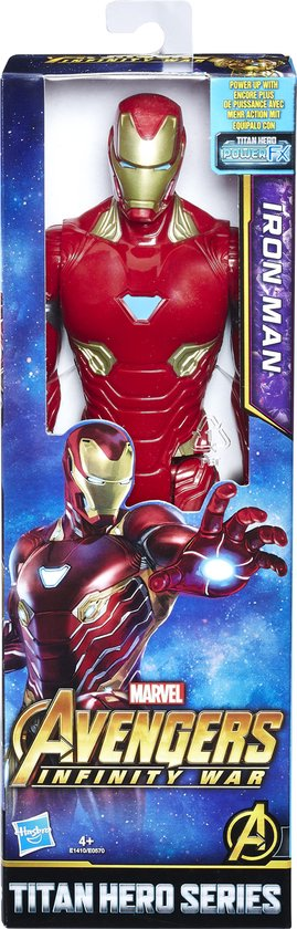 Avengers: Infinity War Titan Hero Power FX figuur Iron Man