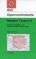 DAV Alpenvereinskarte 45/2 Niedere Tauern 2. 1 : 50 000 Wegmarkierung