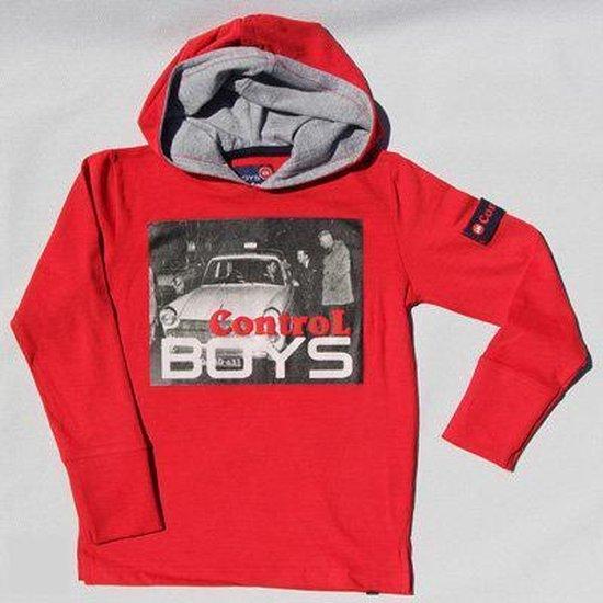 BOYS iN Control Jongen T-shirt - rood - Maat 116
