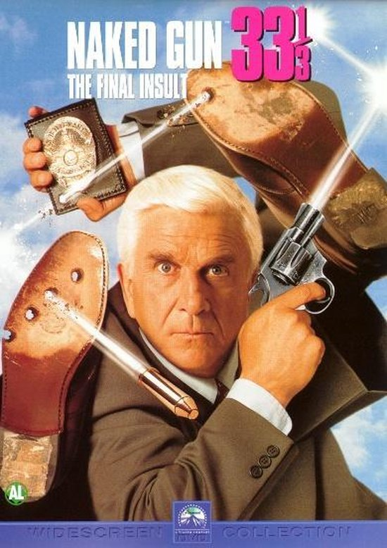 Cover van de film 'Naked Gun 33 1/3'