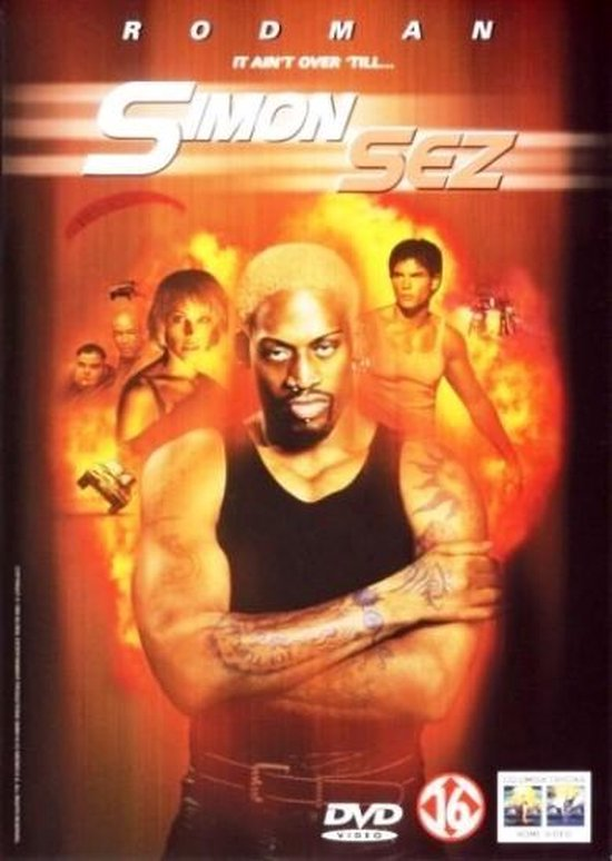 Cover van de film 'Simon Sez'