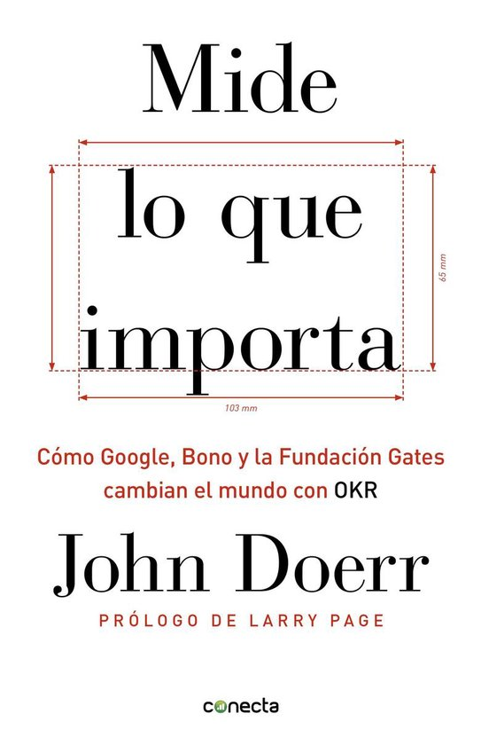 Boek cover Mide lo que importa van John Doerr (Onbekend)