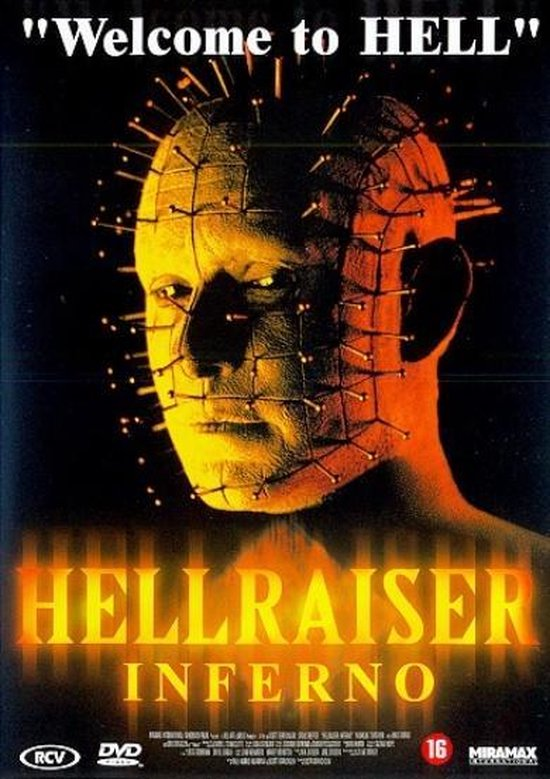 Cover van de film 'Hellraiser 5: Inferno'