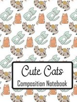 Cute Cats Composition Notebook