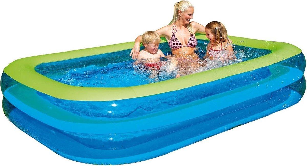 Happy People Opblaaszwembad Wehncke Family-pool 262x175x50 Cm
