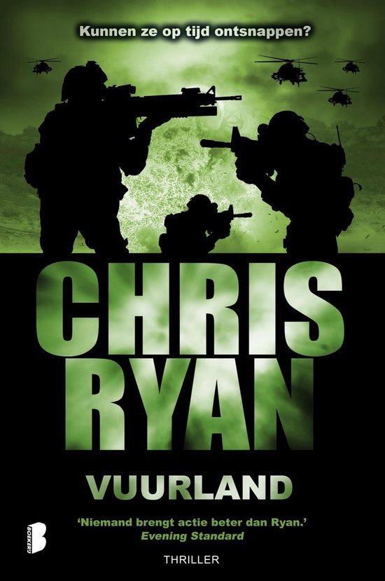 Vuurland - Chris Ryan |