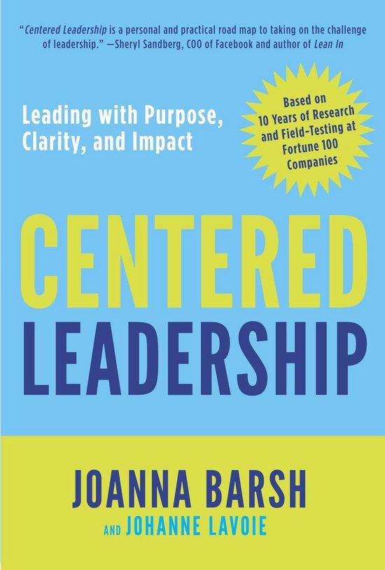 Centered Leadership