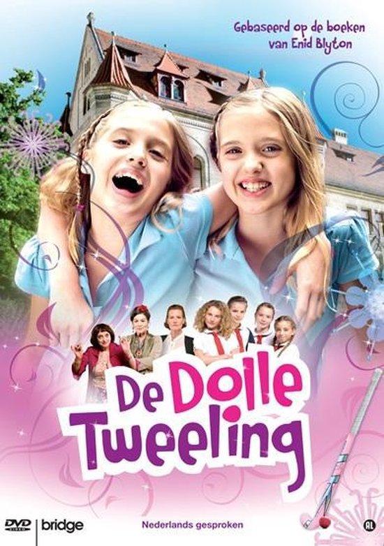 Cover van de film 'De Dolle Tweeling'