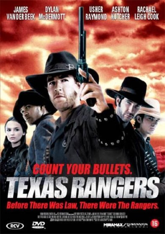 Cover van de film 'Texas Rangers'