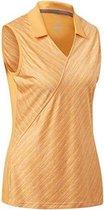 Adidas Golfsinglet Fashion Dames Oranjegeel Maat Xs