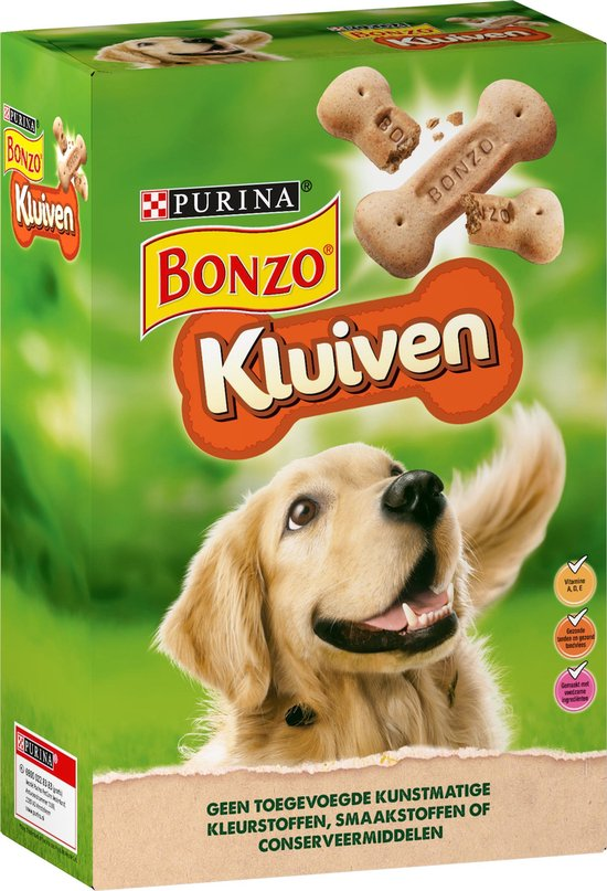 Bonzo Kluiven - Hondensnacks - 4 x 1kg