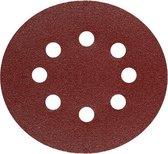 Schuurschijf  Korrel 40 - Met klittenband bevestiging - 125mm - 6 stuks