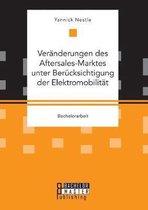 Veranderungen des Aftersales-Marktes unter Berucksichtigung der Elektromobilitat
