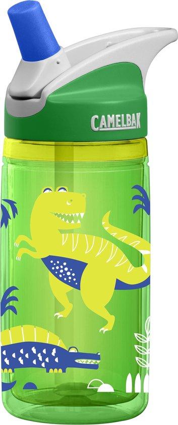 Camelbak Eddy Kids - Drinkfles - 400 ML -  Green Dinos