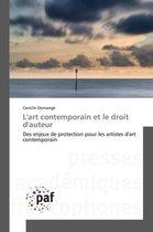 L'Art Contemporain Et Le Droit d'Auteur