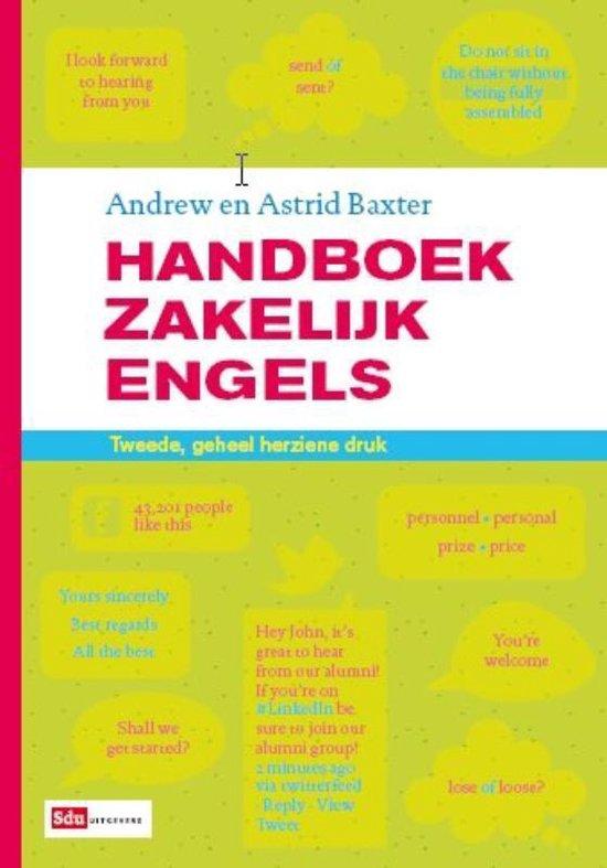 Handboek zakelijk Engels - Andrew Baxter |
