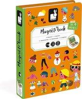 Janod Magnetibook - 4 seizoenen - Multi