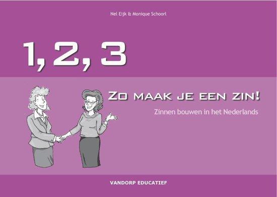Boek cover 123... Zo maak je een zin van N. Eijk