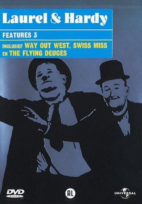 Cover van de film 'Laurel & Hardy - Features 3'