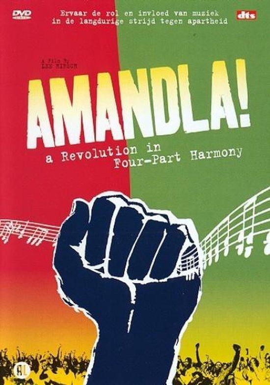 Cover van de film 'Amandla - A Revolution In Four - Part Harmonie'
