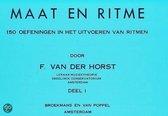 Maat & Ritme | Deel 1 | F. van der Horst