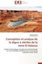 Conception Et Analyse de la Digue � St�riles de la Mine El Halassa