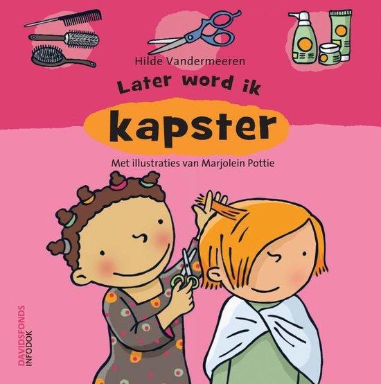Boek cover Leter word ik kapster van Hilde Vandermeeren (Hardcover)