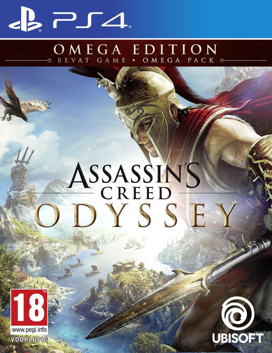 Assassin's Creed: Odyssey - Omega Edition - PS4 - Ubisoft