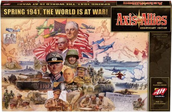 Asmodee Axis and Allies Anniversary Edition - EN