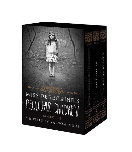 Omslag van Miss Peregrine's Peculiar Children Boxed Set