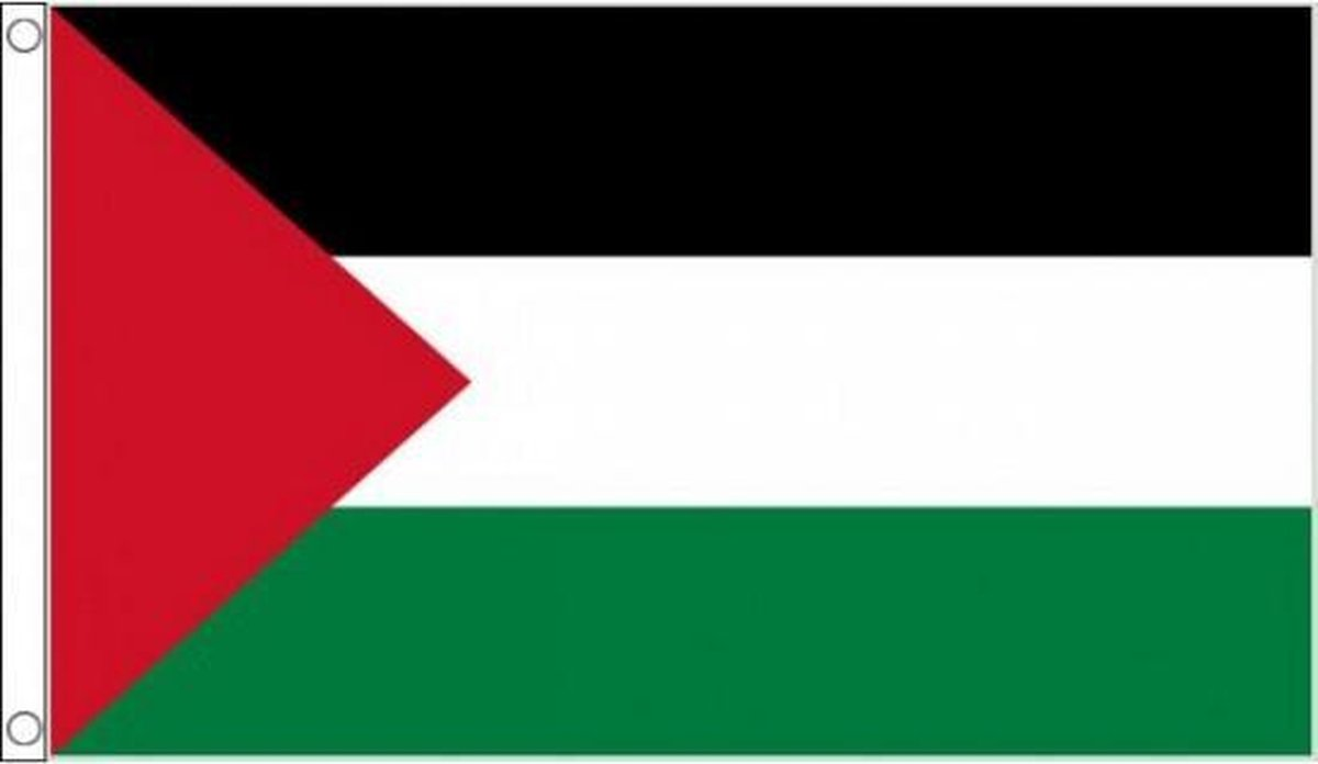 Palestina vlag 90 x 60 cm - Merkloos