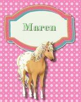 Handwriting and Illustration Story Paper 120 Pages Maren