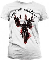 Sons Of Anarchy shirt dames wit S
