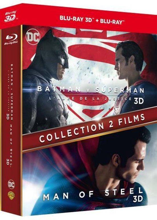 Batman v Superman - Dawn of justice + Man of steel (3D Blu-ray) (Import)