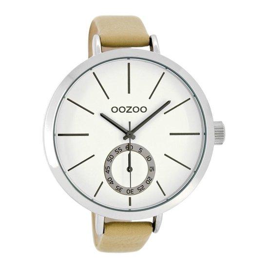 OOZOO Timepieces Bruin/Wit horloge C8315 (48 mm)