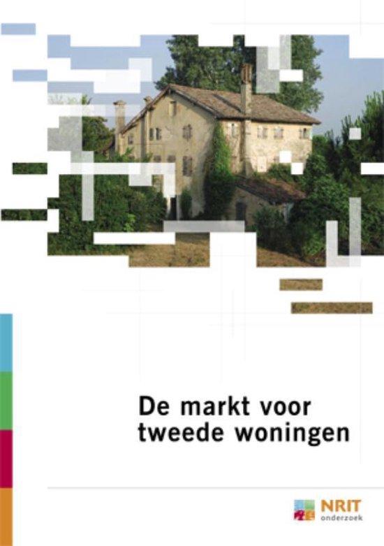 Cover van het boek 'De markt voor tweede woningen'