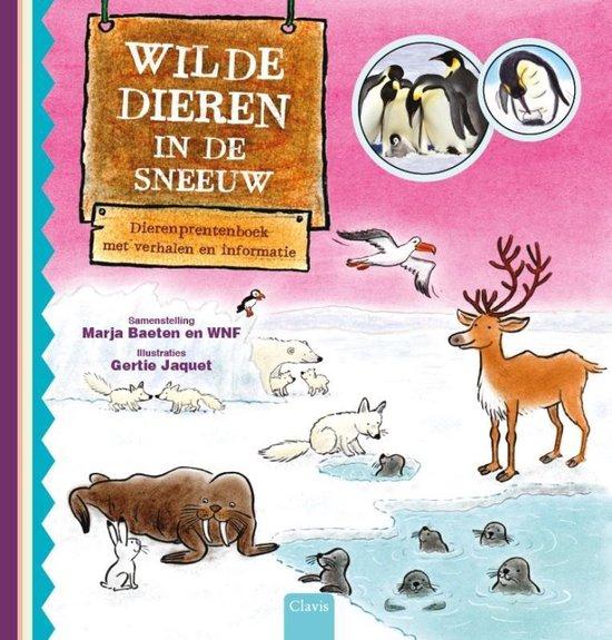 Wilde dieren in de sneeuw - Marja Baeten |