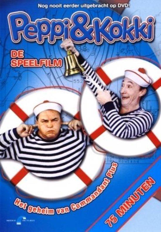 Cover van de film 'Peppi & Kokki - Bij De Marine: Het Geheim Van Commandant Plus'
